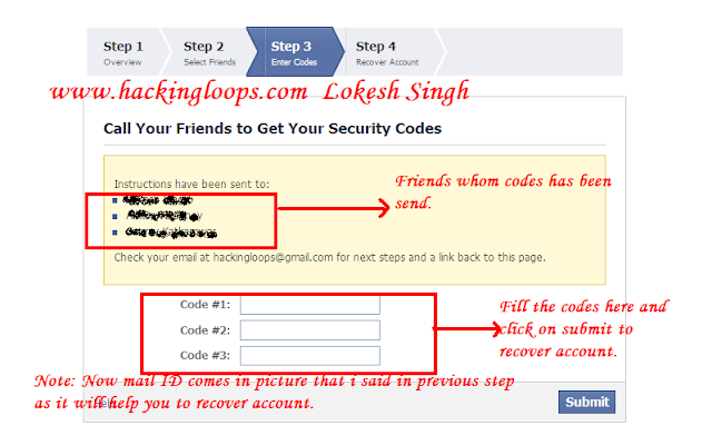 successfully hacked facebook password