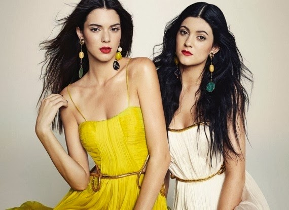 Kendall & Kylie Jenner HQ Pictures Marie Claire Mexico Magazine Photoshoot March 2014