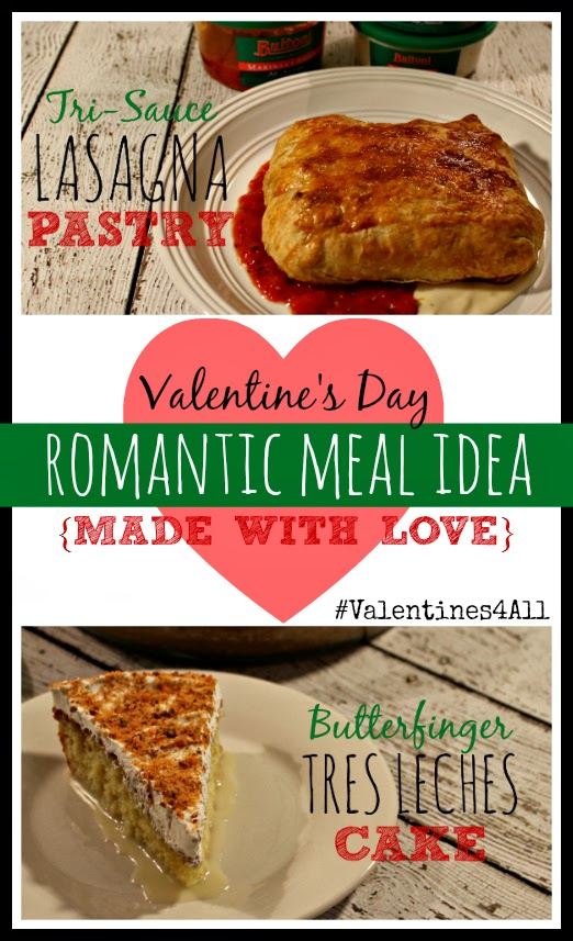 Tri-Sauce Lasagna Pastry and Butterfinger Tres Leches Cake #Valentines4All #shop #cbias