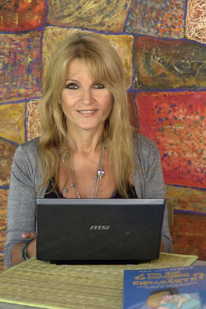 ana von rebeur entrevistada en revista silueta y alma de caracas