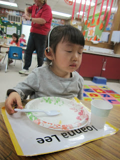 five senses taste sorbet preschool learning