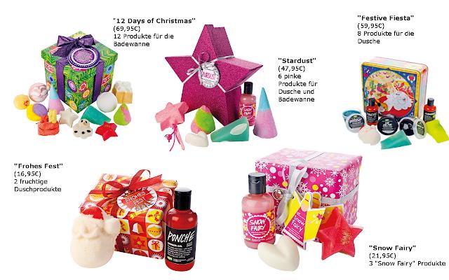 Preview Lush Geschenkesets Weihnachten 2012 - limited Edition (LE) - Dezember 2012
