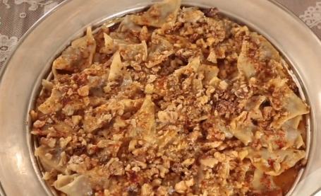 nurselin mutfağı samsun cevizli mantı tarifi