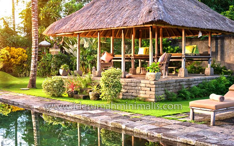 kolam renang rumah minimalis modern
