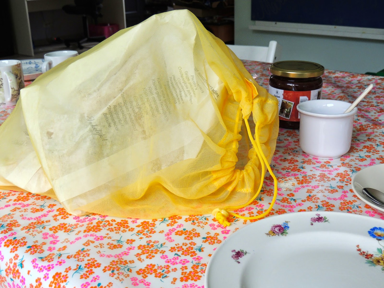 Nowelja over herbruikbaar shoppen for Papieren broodzakjes