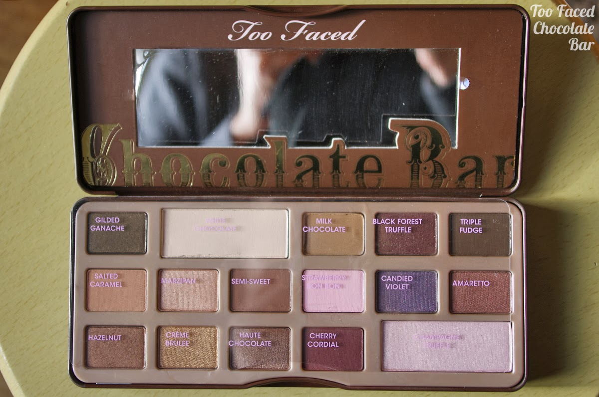 Nina no mugen too faced chocolate bar 1 photos - Palette maquillage aimantee ...