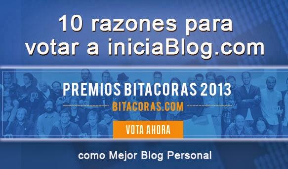 10 razones para votar a iniciaBlog.com