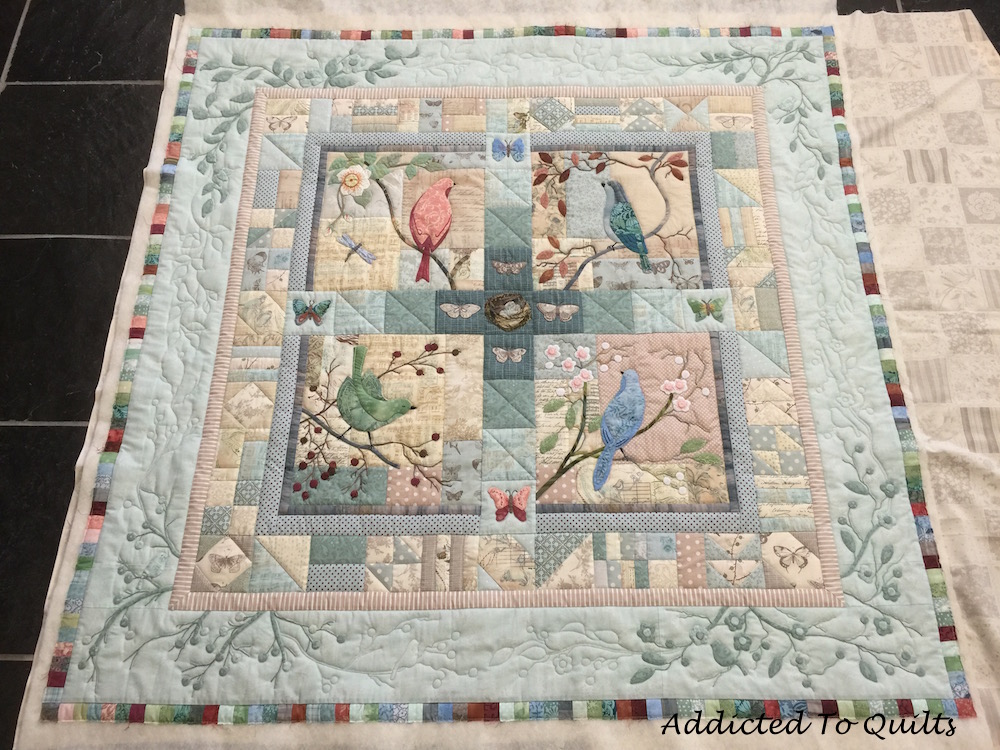Addicted to quilts: two applique quilts