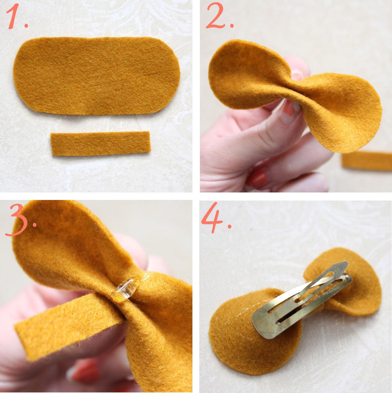 Как сделать заколочку своими руками
