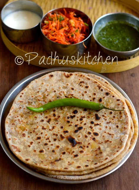 Simple steps to make aloo parathas padhuskitchen aloo paratha forumfinder Image collections