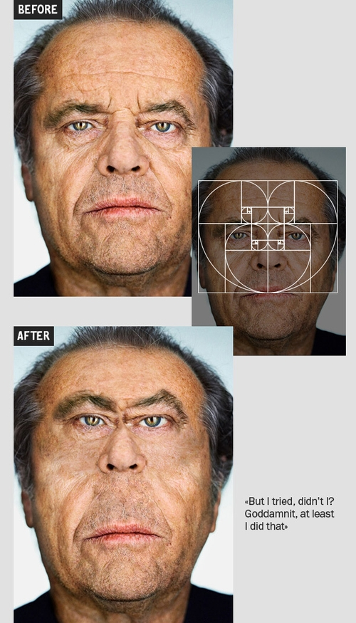 06-Jack-Nicholson-Igor-Kochmala-Plastic-Surgery-using-the Fibonacci-Sequence-www-designstack-co