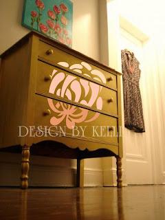 Image Custom furniture finishes vinyl decals
