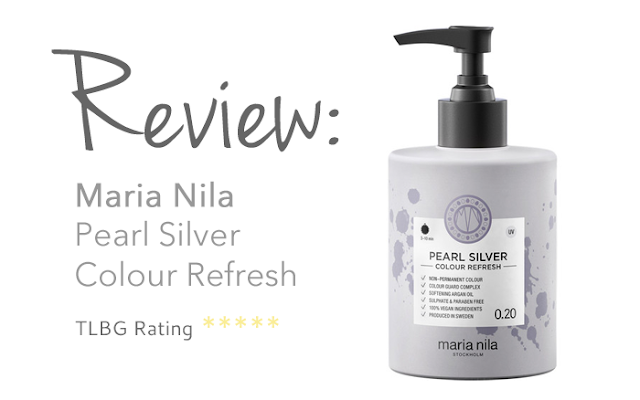 Review: Maria Nila Pearl Silver Colour Refresh