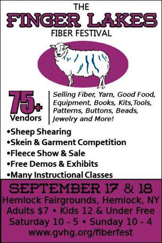 9-17/18 Finger Lakes Fiber Festival