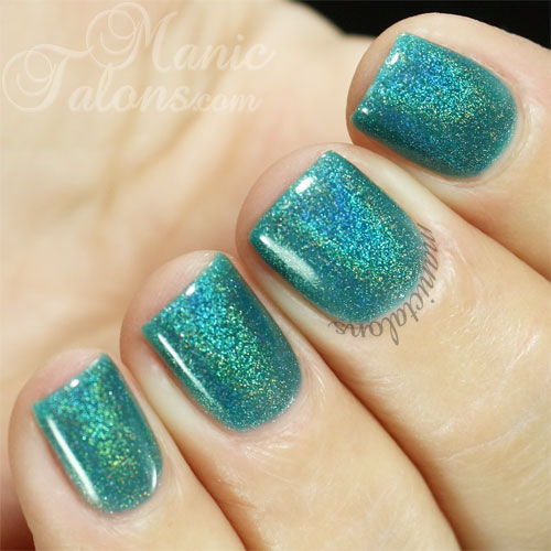 KBShimmer Up and Cunning Converted to Gel Polish with Up2You