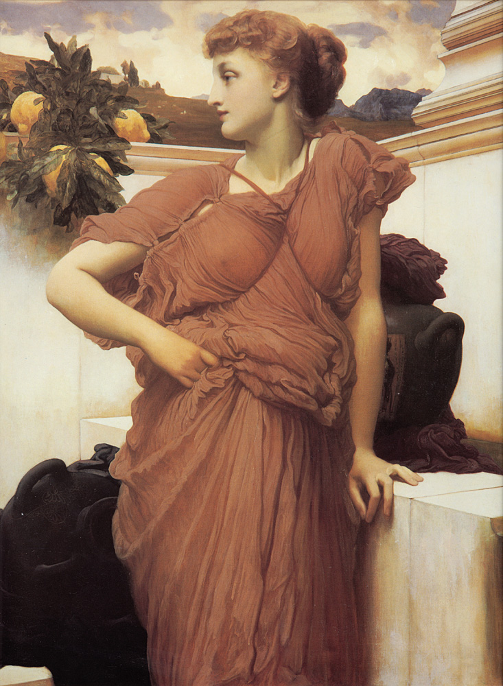 lord frederick leighton fountain