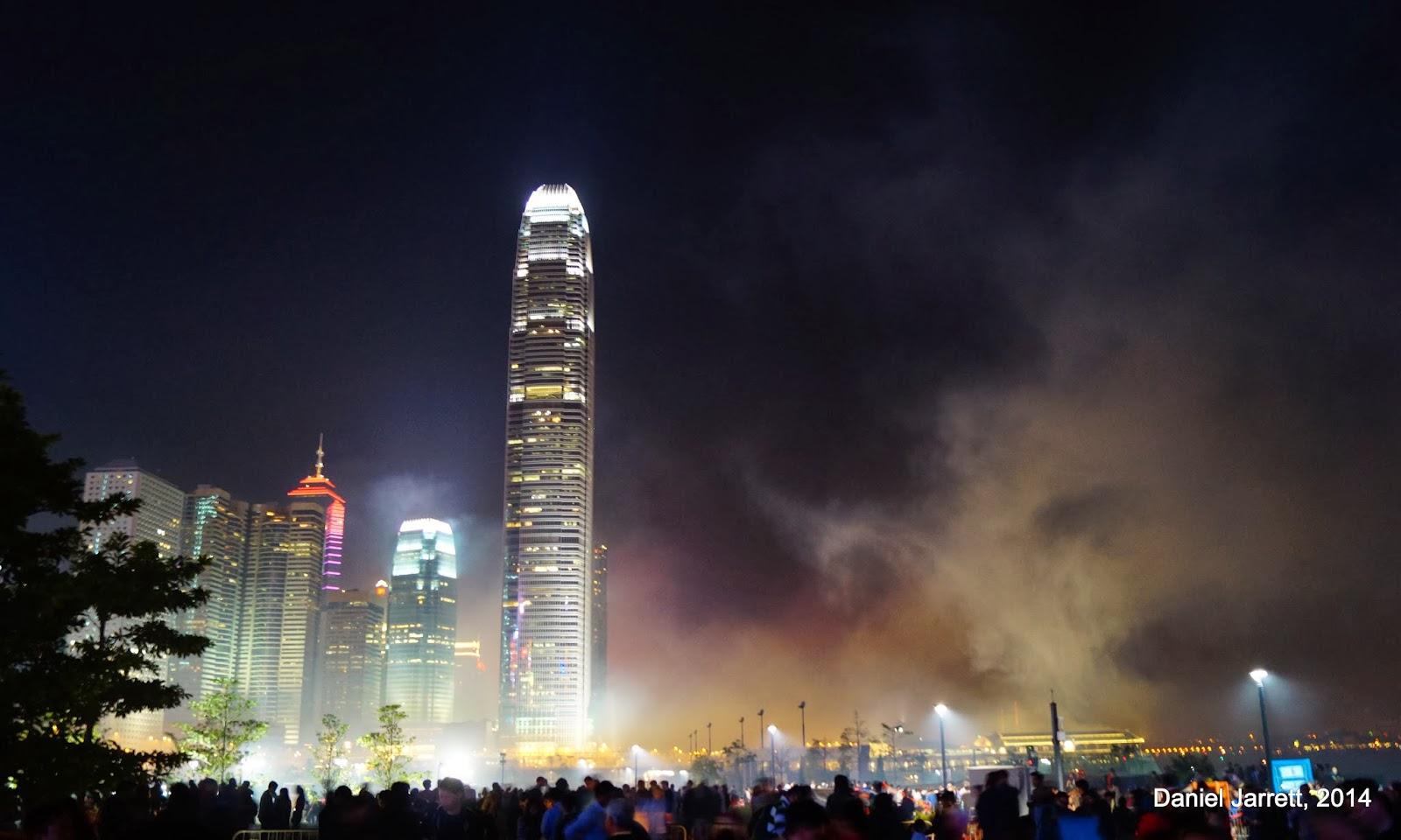 Chinese New Year Fireworks Hong Kong 2014