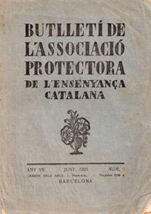"""Associació Protectora de l""""Ensenyança Catalana"""