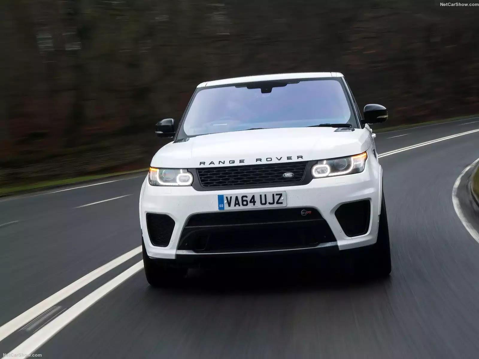 Hình ảnh xe ô tô Land Rover Range Rover Sport SVR 2015 & nội ngoại thất
