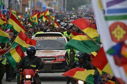 Villazón es área de espectadores consolidada para el Dakar 2016