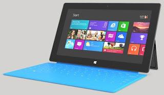Windows 8 em uma tela touch
