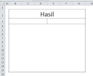 Ramalan Cinta Excel