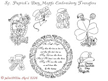 St. Patricks day embroidery designs