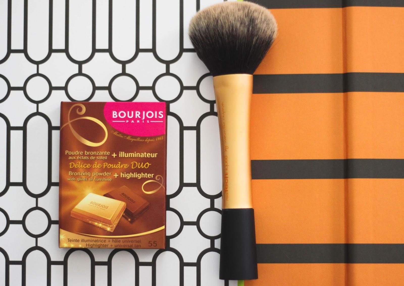 Bourjois Delice de Poudre bronzing powder & highlighter