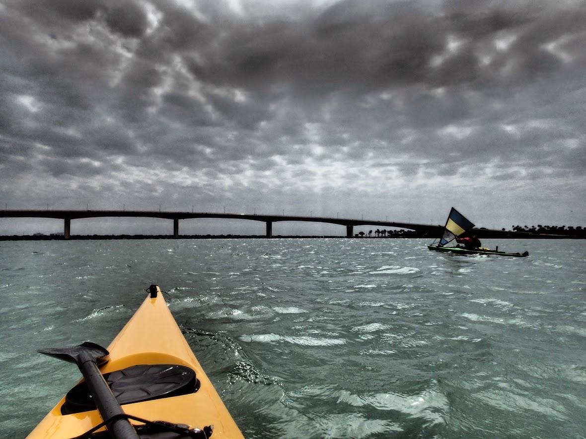 Approaching Sarasota Bridge