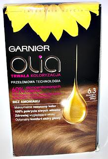 Farba do włosów Garnier Olia 6.3 Złocisty Jasny Brąz