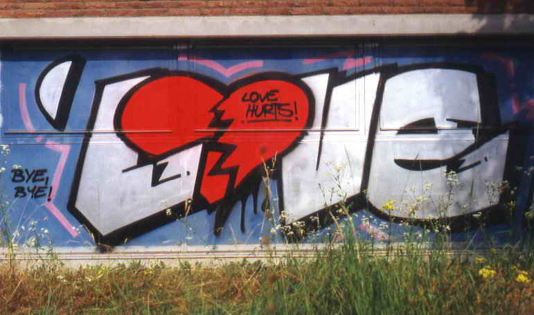 Wiki Graffiti: Graffiti Love