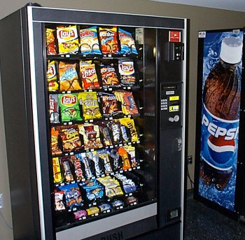 how to hack a snack vending machine