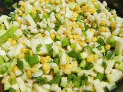 fresh corn and zucchini salad corn salad savory corn fritters