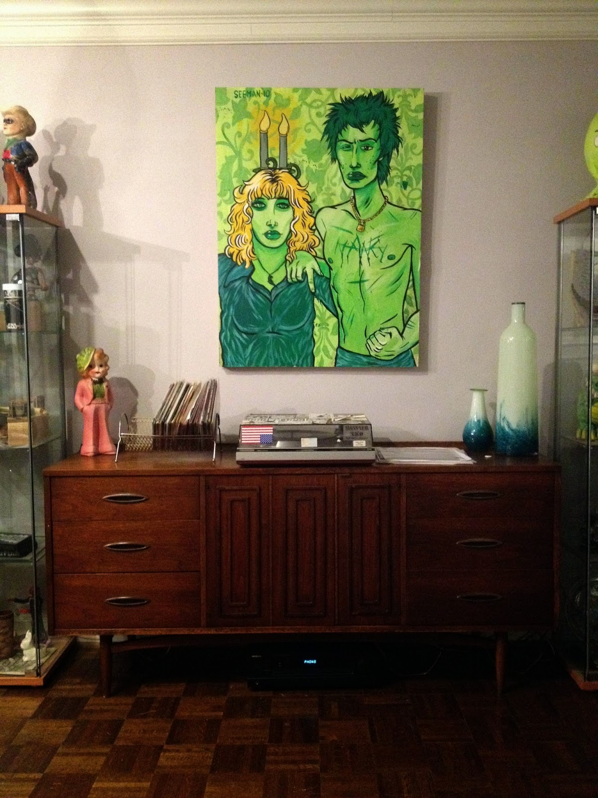 Mad For Mid Century Broyhill Sculptra Dresser As A Credenza