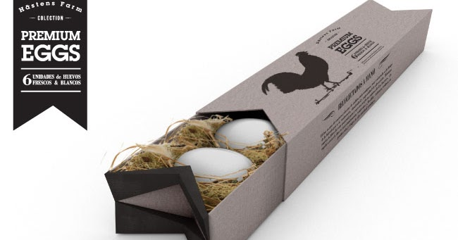 Premium egg pack concept on packaging of the world for Eierkartons kaufen