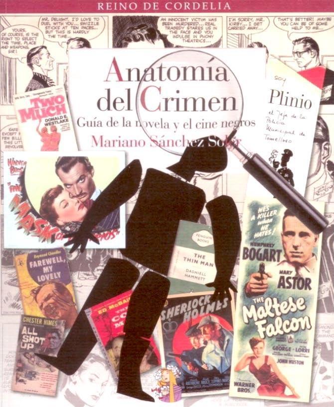 Anatomía del crimen, guía de la novela y el cine negros   Estudio en ...