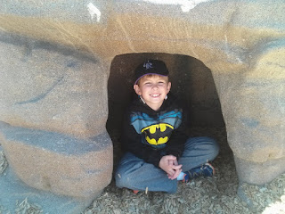 Little batman, little batcave