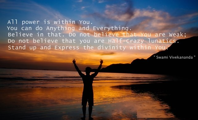 Swami Vivekananda quote: All power is within you; you can do ...