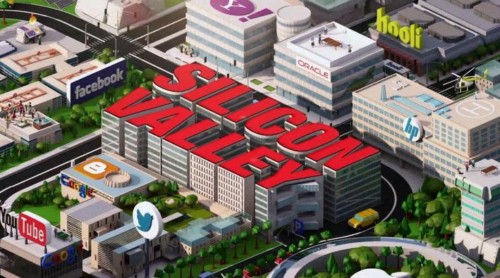 Imagen del opening de Silicon Valley, que homenajea el juego Habbo