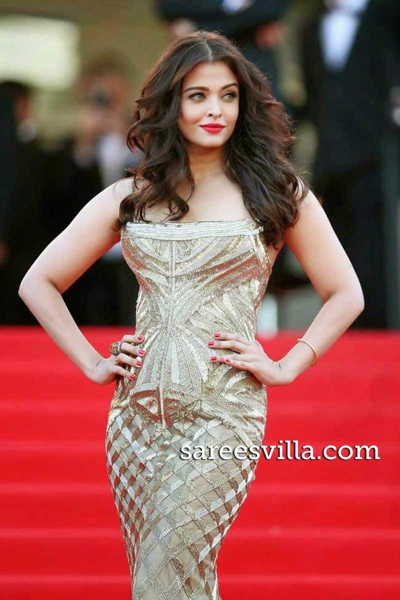 Aishwarya Rai Flattering Hairstyle