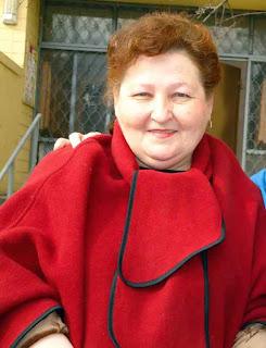 Керівник творчого колективу «Флористика» Київського міського Палацу ветеранів Віра Авдєєва.