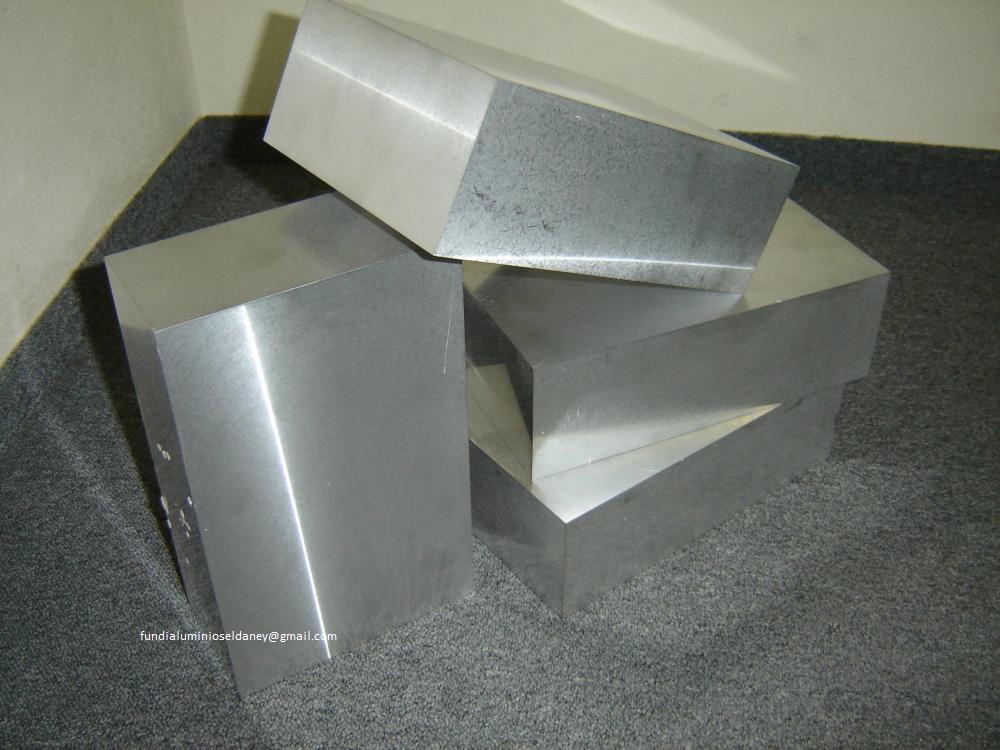Chapas bloques lingotes discos anillos perfiles - Placas de aluminio ...