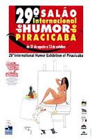 """""""Rio, uma página do humor em Piracicaba"""" - Curador -  Salão de Humor - Piracicaba, SP (2002)"""