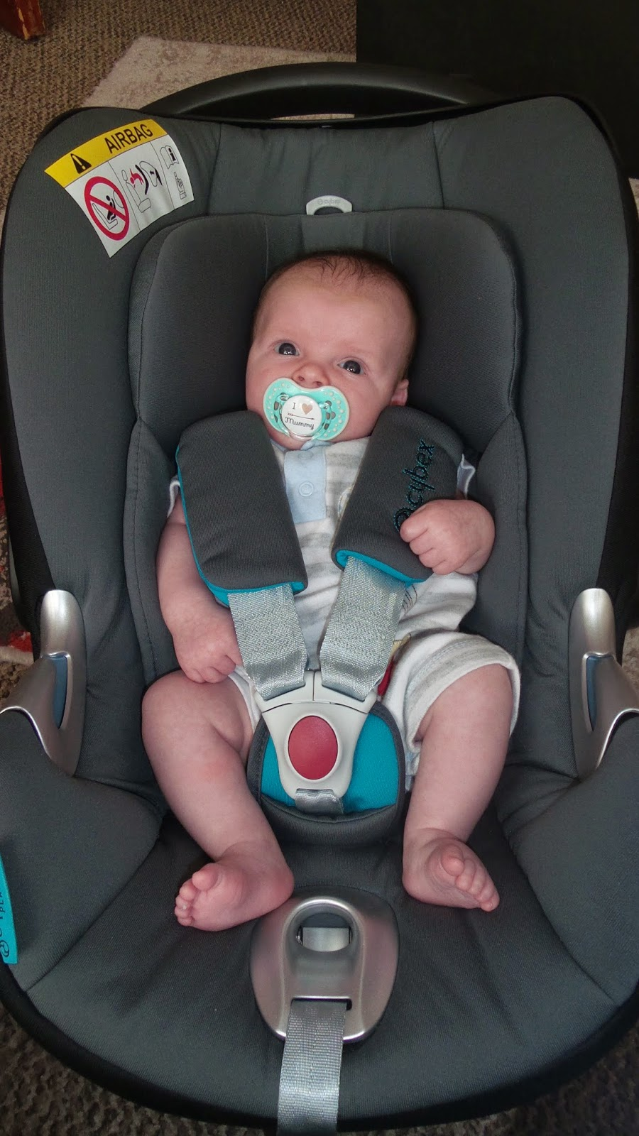 Cybex Aton Q Car Seat and Carrier *review* | Coming from ...