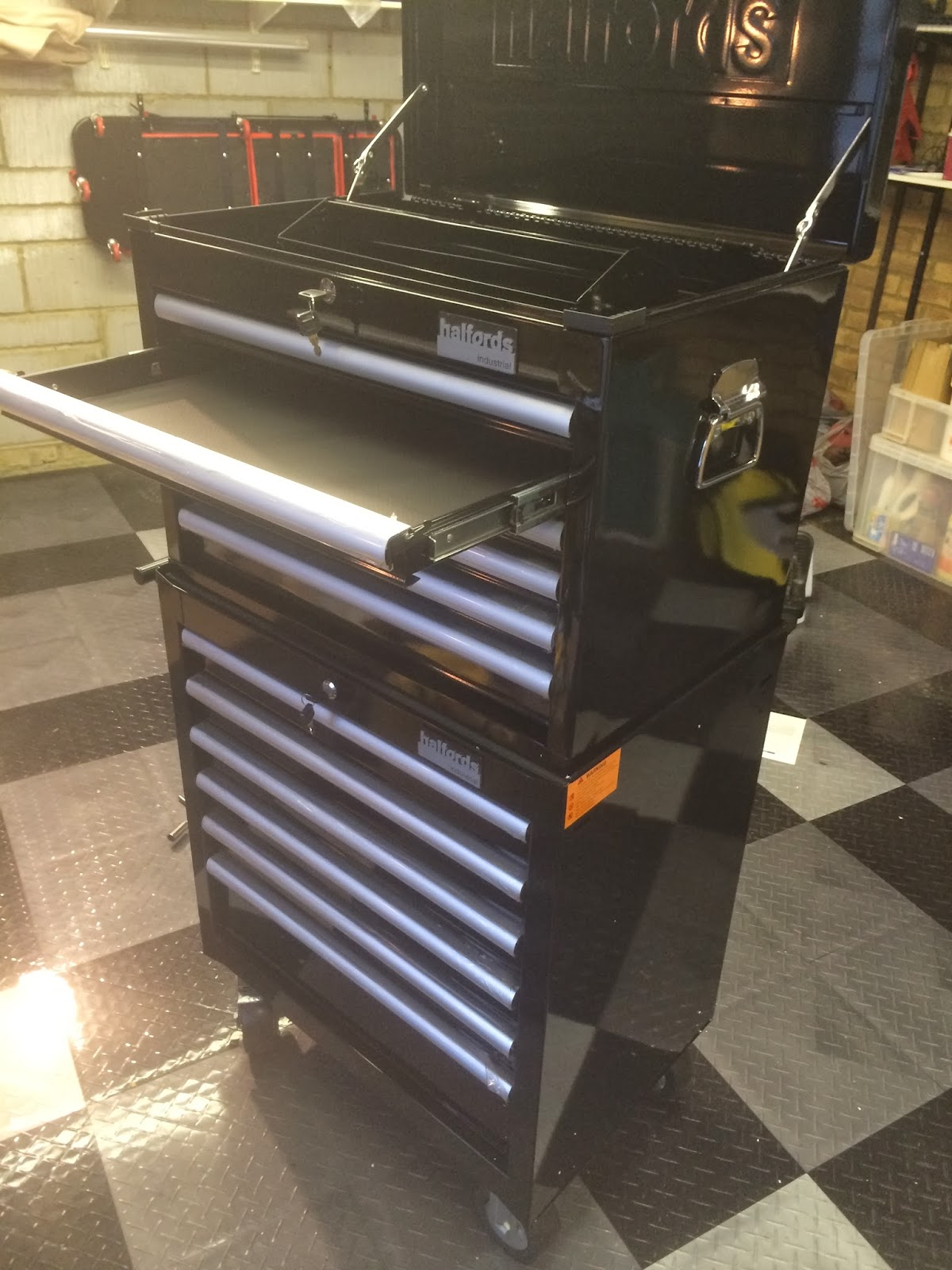 Halfords Industrial Tool Cabinet