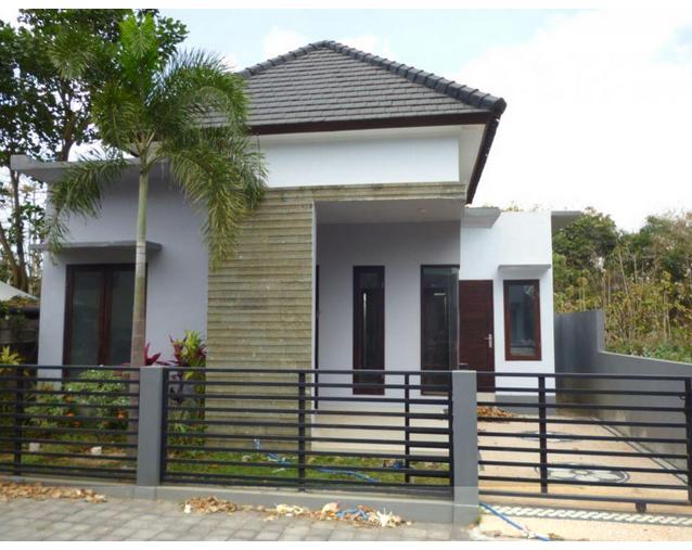 contoh pagar rumah minimalis type 36 dan 45 murah