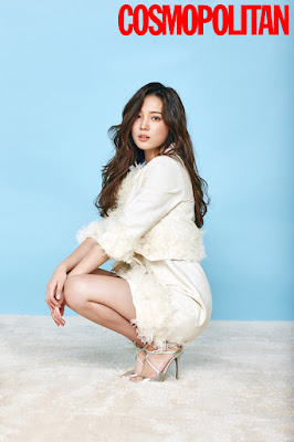 Yoon So Hee - Cosmopolitan Magazine January Issue 2016