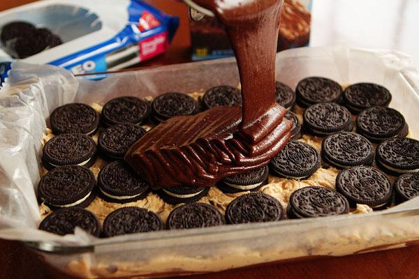Mama's Cooking Corner: Chocolate Chip Cookie N' Oreo Brownie Bar