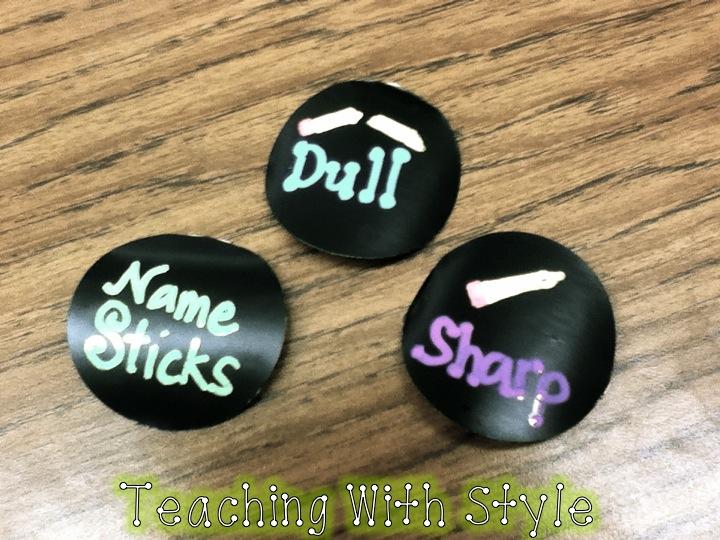 Classroom diy diy chalkboard labels for Diy chalk labels