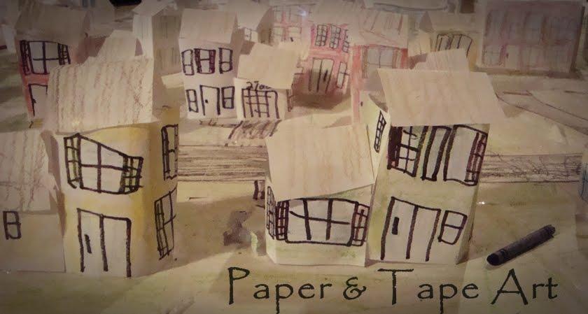 Paper & Tape Art